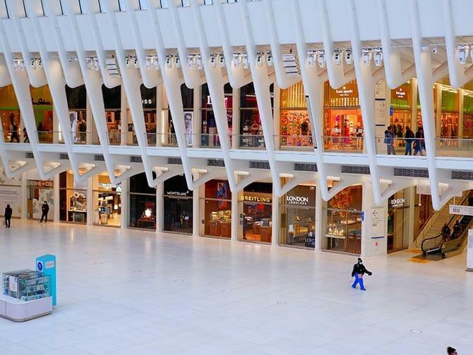 Westfield World Trade Center Shopping em Nova York