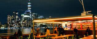 Cruzeiro-Jantar pelo Hudson River em Nova York