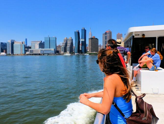 NYC Ferry em Nova York - Passeio de Balsa