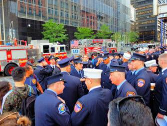 11 de Setembro em Nova York - Bombeiros