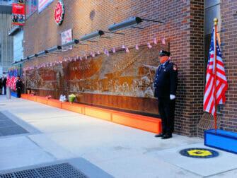 11 de Setembro em Nova York - Parede Memorial