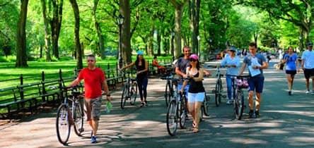 Excursões de bicicleta