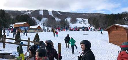 Esquiar perto de Nova York