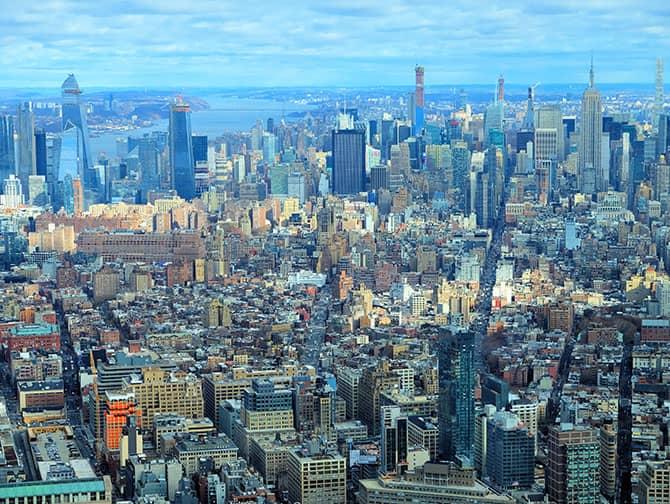 New York Sightseeing Day Pass - Vista do One World Observatory