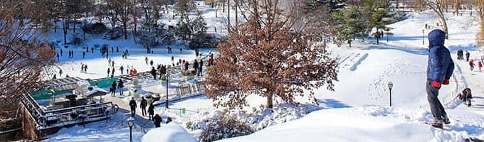 Resorts de esqui perto de Nova York