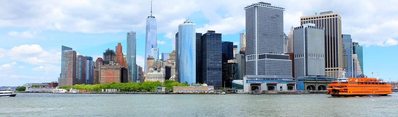Passeios de barco em Nova York