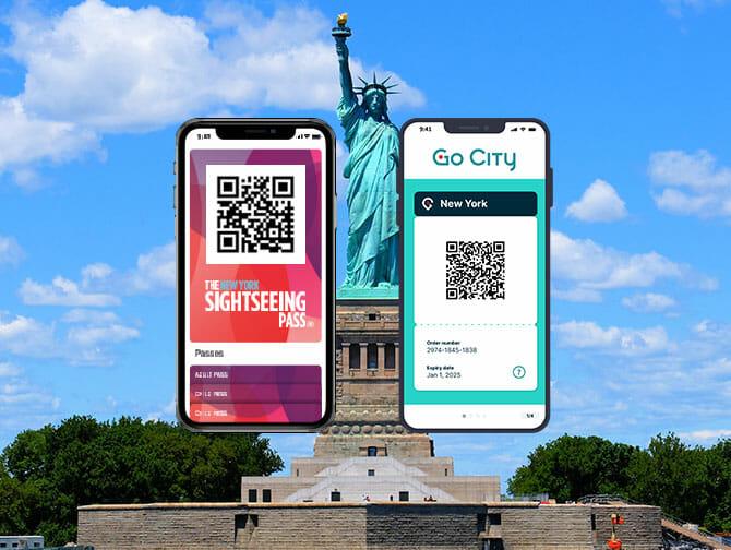 Diferença entre o New York Sightseeing Flex Pass e o New York Explorer Pass