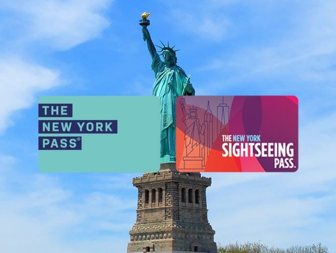 Diferença entre o New York Sightseeing Day Pass e o New York Pass