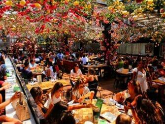 Restaurantes em Nova York - Terraço na cobertura do Birreria