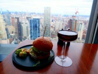 Restaurantes em Nova York - Drink no Manhatta