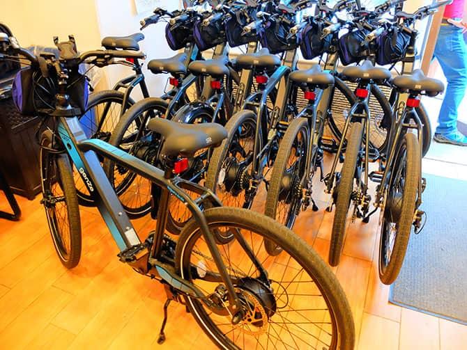 Tour de bicicleta elétrica em Nova York - E-Bikes