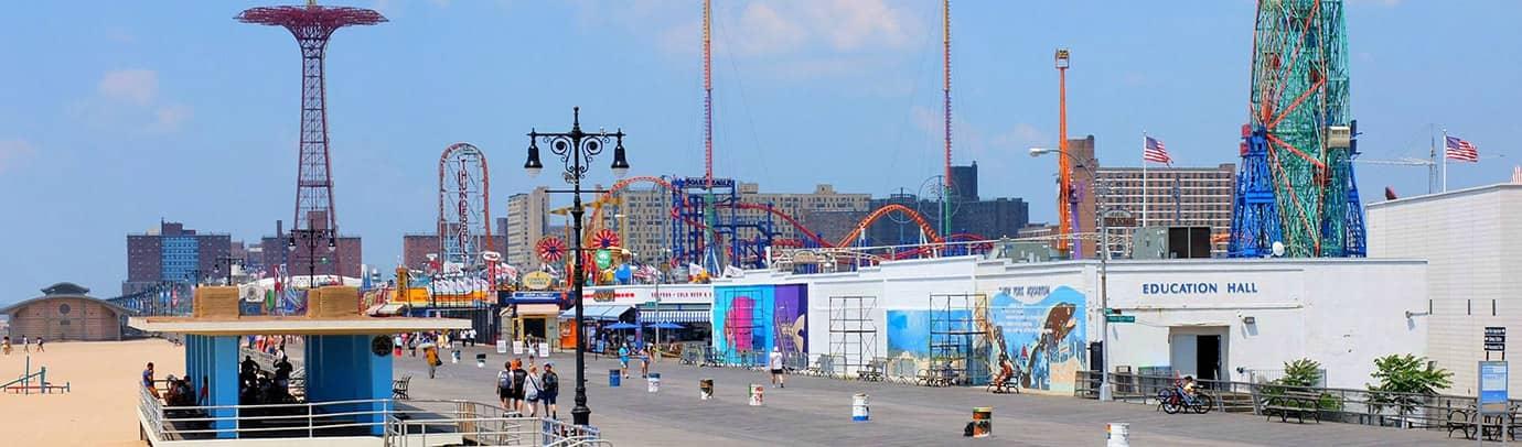 Verão na cidade: Coney Island