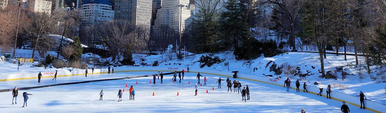 Patinação no gelo em Nova York