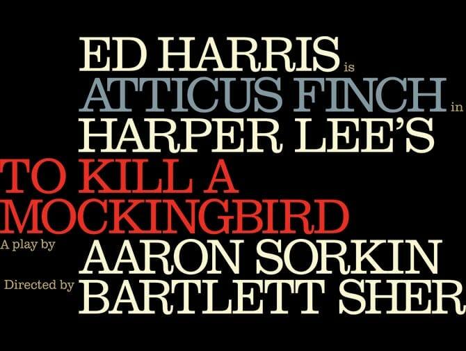 Ingressos para To Kill a Mockingbird na Broadway