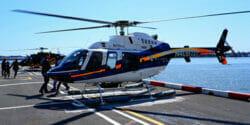 Faça um passeio de helicóptero