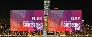 Diferença entre o New York Sightseeing Flex Pass e o Sightseeing Day Pass