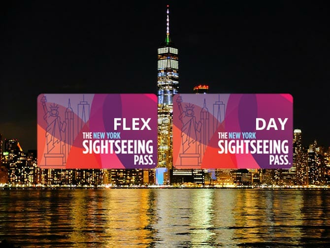 Diferença entre o New York Sightseeing Flex Pass e o Sightseeing Day Pass