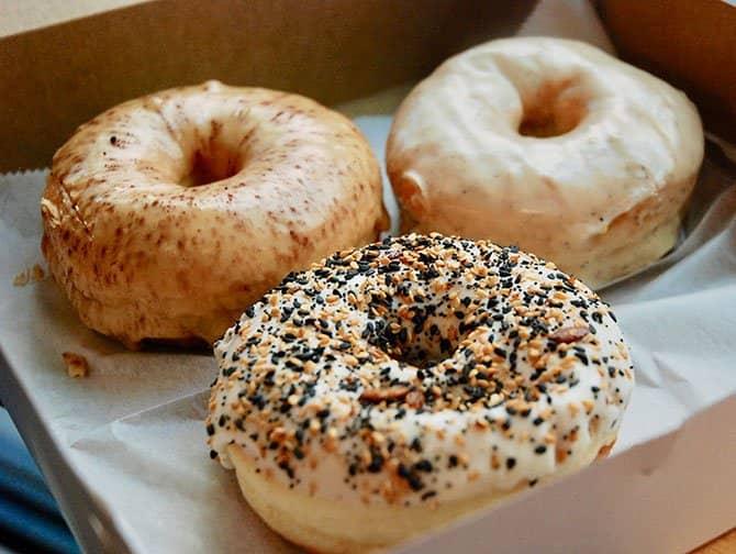 Donut Tour em Nova York - Donut completo