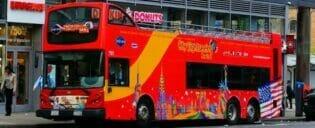 Pacote de Desconto em Nova York ônibus turístico e atrações