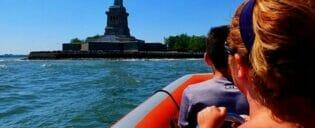 Passeio de Barco de alta velocidade em Nova York