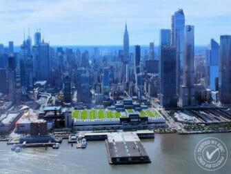 Passeio de Helicóptero em Nova York - Voando sobre o Hudson