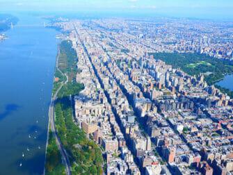 Passeio de Helicóptero em Nova York - Vista do Central Park