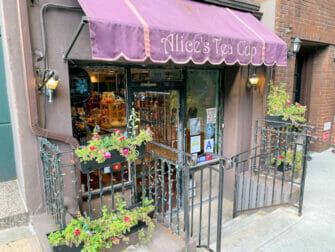 Dia das Mães em Nova York - Alice's Tea Cup
