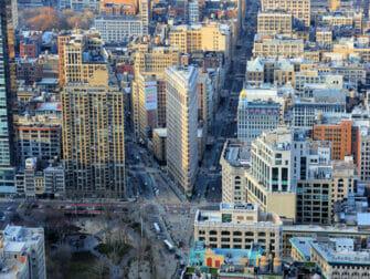 Flatiron Building em Nova York - Vista