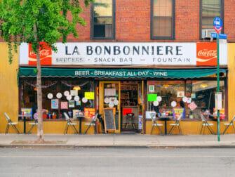 Café da manhã em Nova York - La Bonbonniere