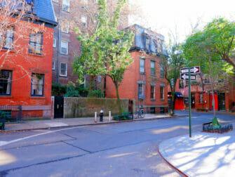 Greenwich Village em Nova York Rua