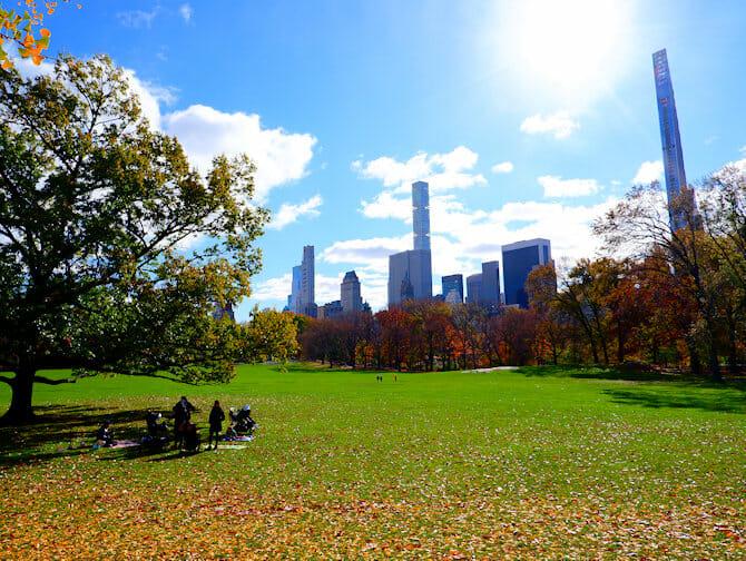 Parques em Nova York - Central Park