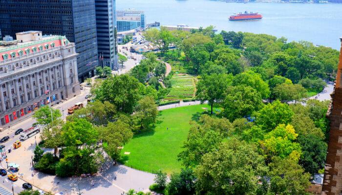 Os parques de Nova York - Battery Park
