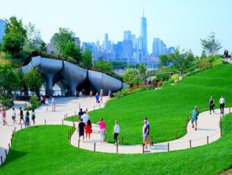 Little Island em Nova York - Oásis verde