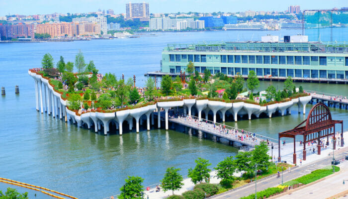 Little Island em Nova York - A Ilha toda
