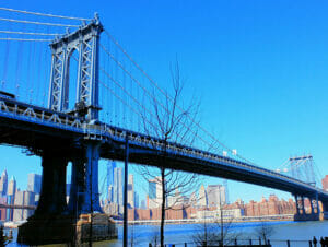 Manhattan Bridge em Nova York