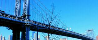 Manhattan Bridge em Nova York
