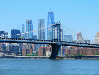 Manhattan Bridge em Nova York - Skyline