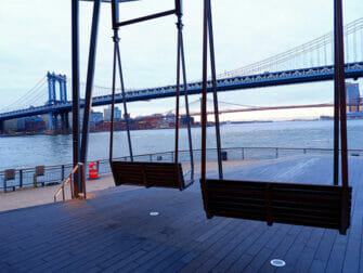 Manhattan Bridge em Nova York - Vista