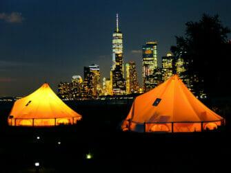 Governors Island em Nova York - Cabanas à Noite