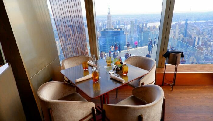 Almoço em Nova York - Peak