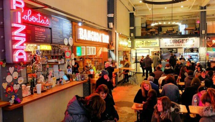 Almoço em Nova York - Urban Space