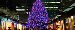 Feiras de Natal em Nova York