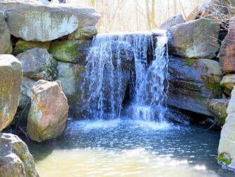 Central Park em Nova York - Cachoeira