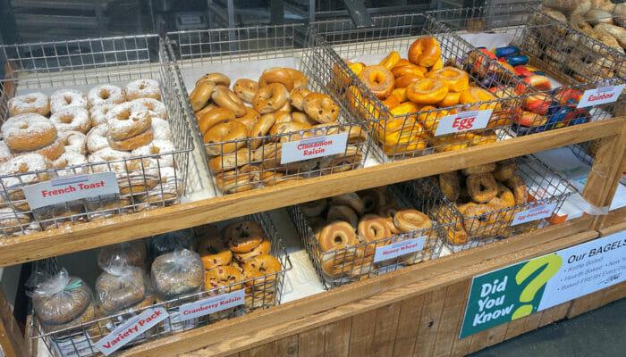 Melhores Bagels em Nova York - Supermercado