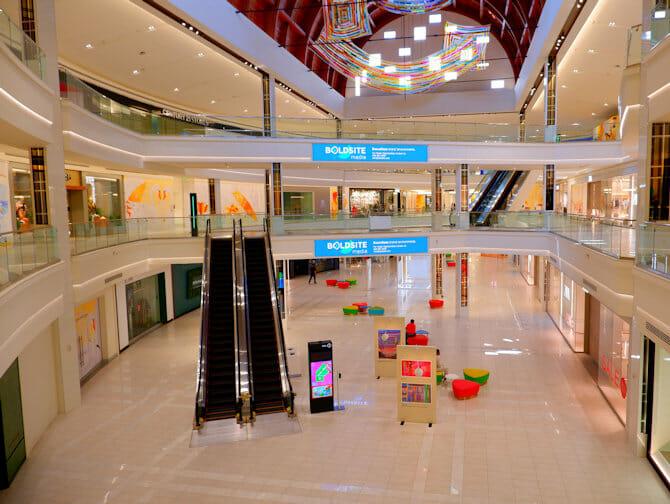 American Dream Mall perto de Nova York